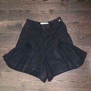 Chanel women's black skort
